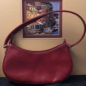 Liz Claiborne Red Leather Mini Bag